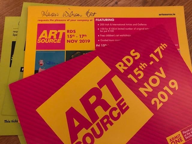 Art Source 2019 invitations