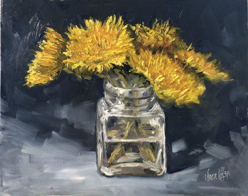 Dandelions by Karen Wilson