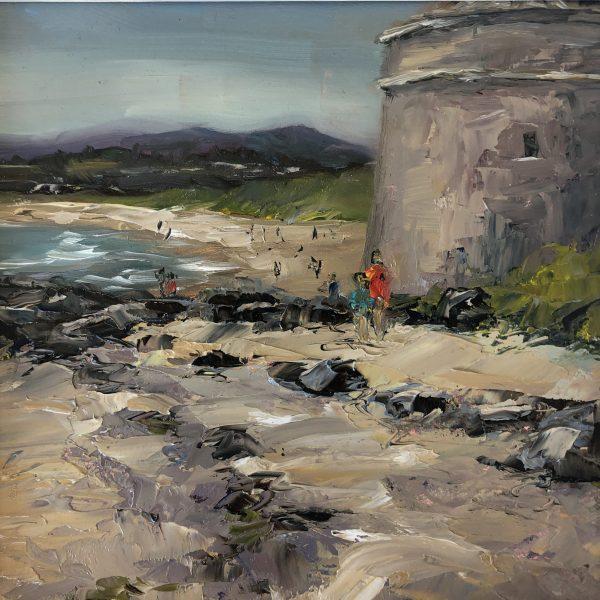 Donabate beach by Karen Wilson