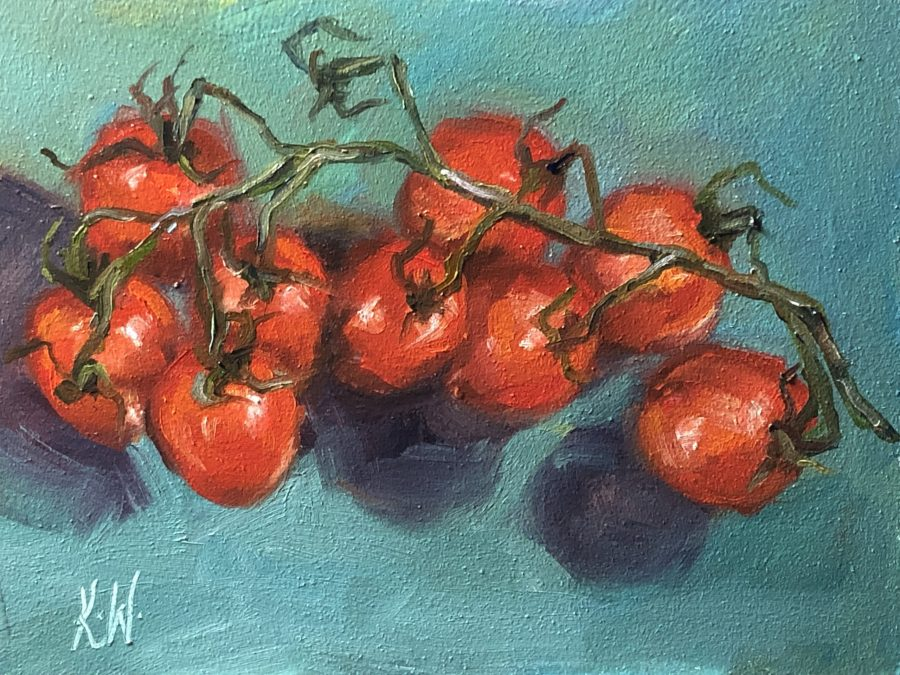 vine tomato still life
