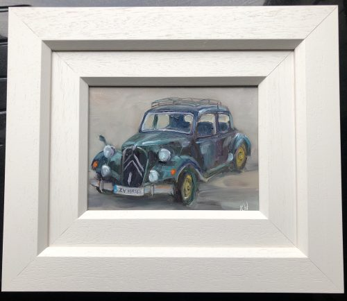Vintage car framed
