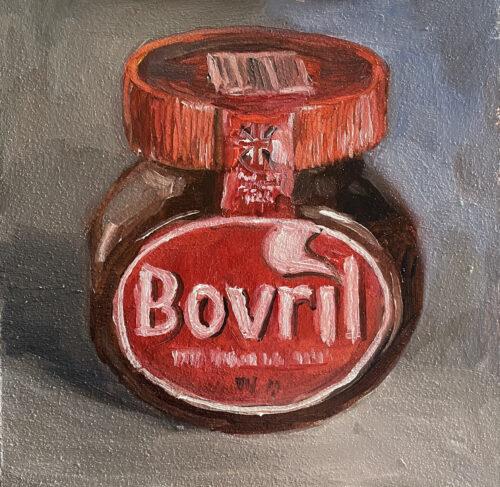 bovril jar still life